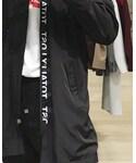 ZARA | (Collarless jacket)