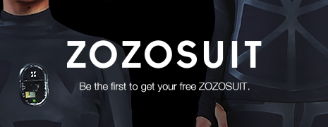 Be the first to get your free ZOZOSUIT.