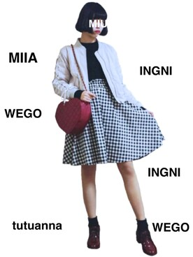 シロタ ミウさんの(INGNI|イング)を使ったコーディネート