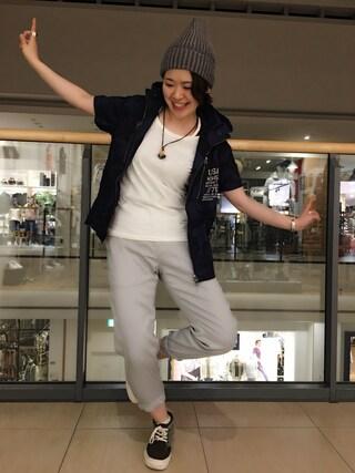 AVIREX ららぽーと横浜 Yasさんの(AVIREX アヴィレックス)を使ったコーディネート