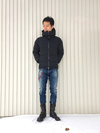 "「NANGA x DOORS ""AURORA×CAMO""(URBAN RESEARCH DOORS MENS)」 using this kakuhou looks"