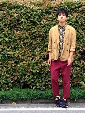 Kotaro Hatano【毎日投稿】さんの(SebasTian(Vintage clothing store))を使ったコーディネート