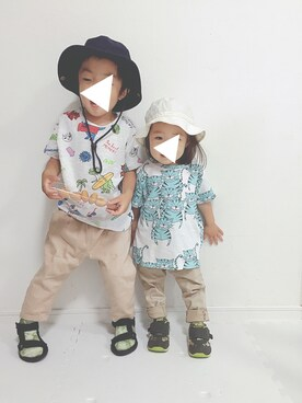 soo&aaaさんの「KidsSnapAdventure(KRIFF MAYER クリフメイヤー)」を使ったコーディネート