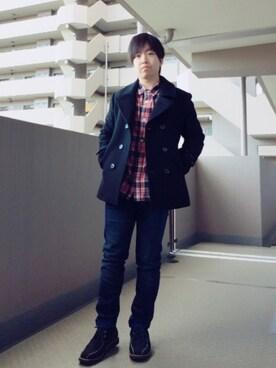 HIROKIさんの(SHIPS JET BLUE|シップスジェットブルー)を使ったコーディネート