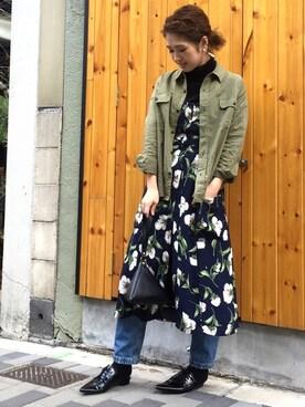 LIFE's堀江店|YUKO SAKAGUCHI さんの(BLACK BY MOUSSY|ブラックバイマウジー)を使ったコーディネート