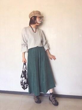 star☆さんの(MURUA|ムルーア)を使ったコーディネート