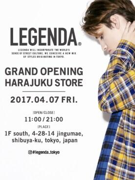 LEGENDA|LEGENDA_TOKYOさんの「CHECK × CHECK 切り替えシャツ(LEGENDA|レジェンダ)」を使ったコーディネート