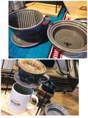 SHIORI HIRAI◡̈さんの「家具職人が手づくり バリスタ気分のコーヒードリップスタンド(haco!|ハコ)」を使ったコーディネート