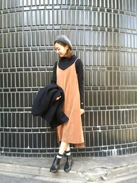 MILKFED. AT HEAVEN27 名古屋|伊藤有希さんの「BERET(MILKFED.|ミルクフェド)」を使ったコーディネート