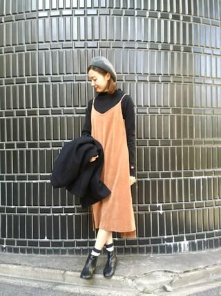 MILKFED. AT HEAVEN27 名古屋|伊藤有希さんの「WOOL COAT(MILKFED.|ミルクフェド)」を使ったコーディネート