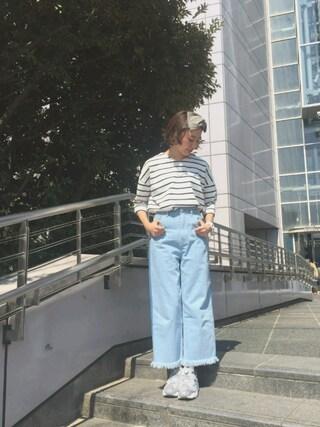 MILKFED. AT HEAVEN27 名古屋|伊藤有希さんの「RIBBON HAIR BAND(MILKFED.|ミルクフェド)」を使ったコーディネート
