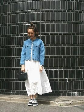 MILKFED. AT HEAVEN27 名古屋|伊藤有希さんの「DENIM JACKET(MILKFED.|ミルクフェド)」を使ったコーディネート