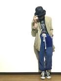 深堀 海斗 is wearing CA4LA