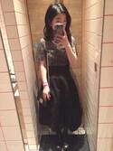yuri さんの「リネンハイウエストスカート(LE CIEL BLEU|ルシェルブルー)」を使ったコーディネート