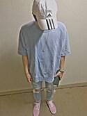 Ryoukiさんの「VANS ヴァンズ OLD SKOOL DX オールドスクール DX V36CL+ L.PINK(VANS バンズ)」を使ったコーディネート