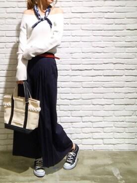 FEMIND TOKYO代官山本店|chiiさんの(CONVERSE|コンバース)を使ったコーディネート