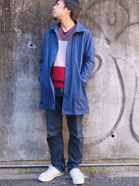 CLUTCH|CLUTCHofficialさんの「コート(le coq sportif LE URBAN STYLE)」を使ったコーディネート