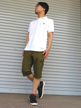 CLUTCH|CLUTCHofficialさんの(le coq sportif LE URBAN STYLE)を使ったコーディネート