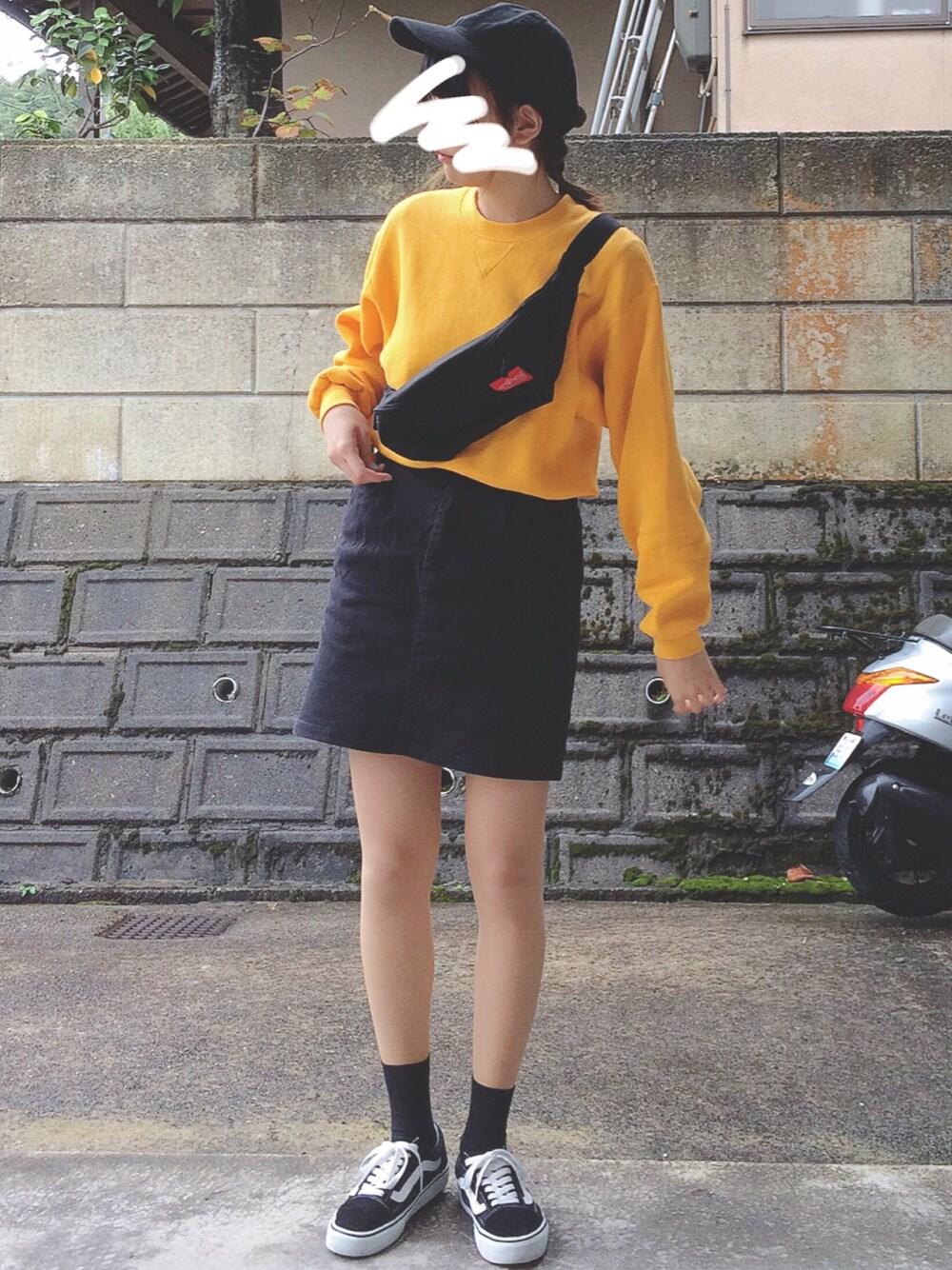 カラートレーナー×スカート