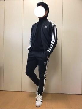 西川 淳さんの(adidas|アディダス)を使ったコーディネート