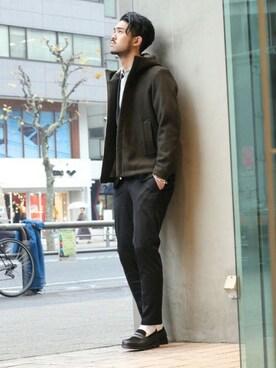 EDIFICE TOKYO 渋谷店|TERAさんの(FRED PERRY|フレッドペリー)を使ったコーディネート