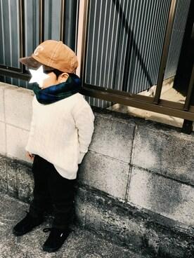 OTO♡MACHUさんの「ウールライクイージーパンツ(CIAOPANIC TYPY|チャオパニックティピー)」を使ったコーディネート