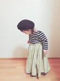 OTO♡MACHUさんの「ワッシャースカーチョ(CIAOPANIC TYPY|チャオパニックティピー)」を使ったコーディネート