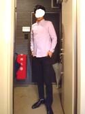hisui07さんの(THE SHOP  TK|ユニクロ)を使ったコーディネート