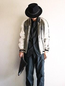 あつみ(QUILTMARRIDGE)さんの(TAKAHIRO MIYASHITA The SoloIst.|タカヒロ  ミヤシタ ザ ソロイスト)を使ったコーディネート