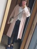 yuiさんの「カプリッチョLクロスボディショルダーポーチ(FURLA|フルラ)」を使ったコーディネート
