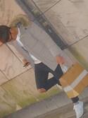 kaito(17)さんの「MEN ダウンジャケット(ユニクロ|ユニクロ)」を使ったコーディネート