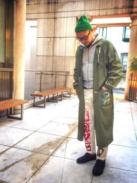 jun oyaさんの(KIJIMA TAKAYUKI|キジマ タカユキ)を使ったコーディネート