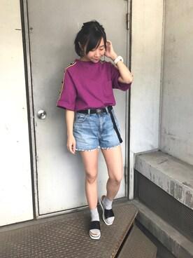 X-girl 新宿|ko2tan的搭配