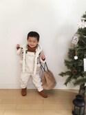 nikkaさんの「2016Xmas クリスマスツリー150cm【niko and ...】(niko and...|ニコアンド)」を使ったコーディネート