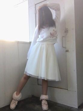 ❤︎ちぃ姫❤︎さんの(LIZ LISA リズリサ)を使ったコーディネート
