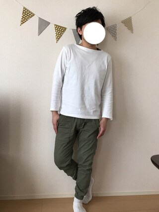「【Top Sider】ボートネック長袖Tシャツ(Right-on)」 using this Akihito Ito looks