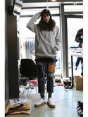 「Laundry Day hoodie_Gray(RMTC)」 using this romanticcrown looks