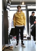 「Laundry Day hoodie_Mustard(RMTC)」 using this romanticcrown looks