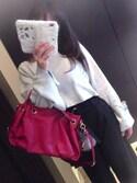 anatomyさんの「3wayレザーハンドバッグ【PLAIN CLOTHING】(PLAIN CLOTHING|プレーンクロージング)」を使ったコーディネート