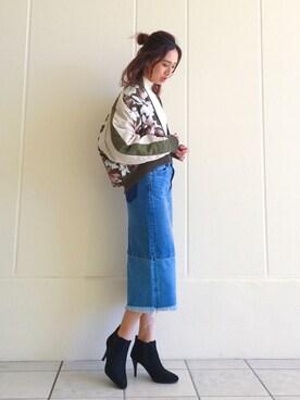 AZULbymoussyららぽーと湘南平塚店|shizuka  suzukiさんの(AZUL by moussy|アズールバイマウジー)を使ったコーディネート