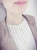 keccoさんの(Samantha Tiara|フレイ アイディー)を使ったコーディネート