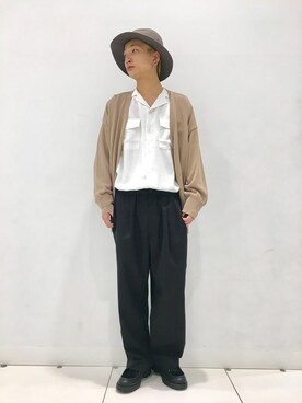 SENSE OF PLACE by URBAN RESEARCH 名古屋店|SENSE OF PLACE  名古屋店 STAFFさんの(SENSE OF PLACE by URBAN RESEARCH|センス オブ プレイス バイ アーバンリサーチ)を使ったコーディネート
