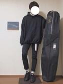 「Nike Three-Pack Cotton-Blend Socks(Nike)」 using this のむさん looks