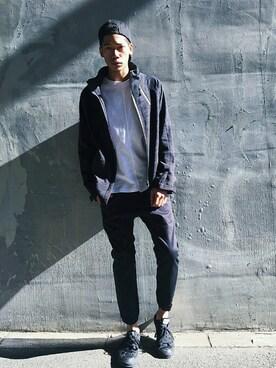 AZULbymoussyららぽーと横浜店|Jackson O Yousukeさんの(AZUL by moussy|アズールバイマウジー)を使ったコーディネート