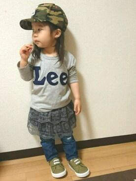 yuricaさんの(Lee|リー)を使ったコーディネート