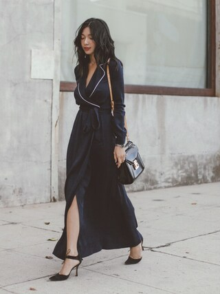 「Mini Paris Crossbody Bag(REBECCAMINKOFF)」 using this Stephanie Liu  looks