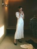 「Isabel Marant Rany Jacquard Dress(ISABEL MARANT)」 using this Stephanie Liu  looks