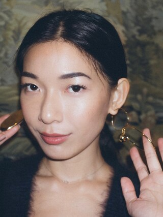 「Stella McCartney Stella Mccartney Gold-Tone Earrings(Stella McCartney)」 using this Stephanie Liu  looks
