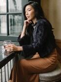 「Lavish Alice Flounce Hem Midi Skirt(no brand)」 using this Stephanie Liu  looks
