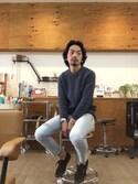 Keishi Yamashitaさんの「(SUPERGA)2750-COTU(SUPERGA|スペルガ)」を使ったコーディネート